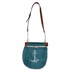 Kiel James Patrick rope anchor purse